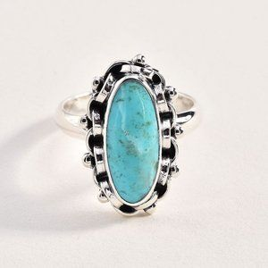 Sterling 925 Royston Turquoise Ring